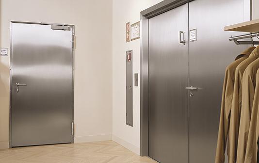 Se vores udvalg af akustik stål døre & porte